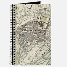 Vintage Map of Munich Germany (1832) Journal