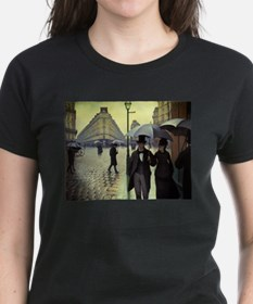 Paris Street Rainy Day by Caillebotte T-Shirt