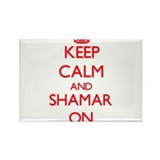 Keep Calm and Shamar ON Magnets