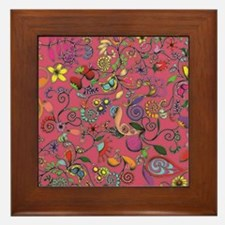 Flowers and Such! Framed Tile