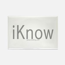 iKnow Rectangle Magnet