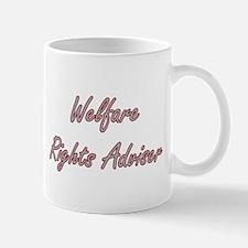 Welfare Rights Adviser Artistic Job Design Mugs