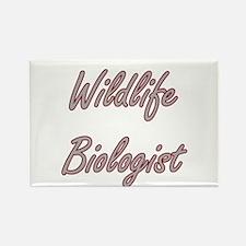 Wildlife Biologist Artistic Job Design Magnets