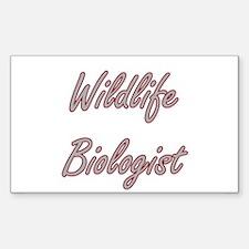 Wildlife Biologist Artistic Job Design Decal