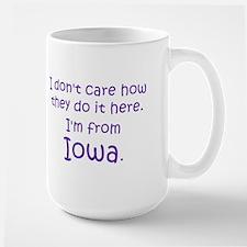 From Iowa Large Mug
