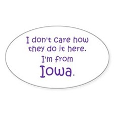From Iowa Decal