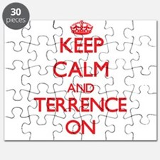 Keep Calm and Terrence ON Puzzle