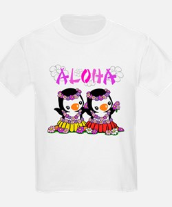 Aloha Penguins (5) T-Shirt