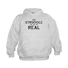 The Struggle is Real Kid's Hoodie