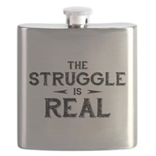 The Struggle is Real Flask