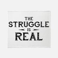 The Struggle is Real Stadium Blanket