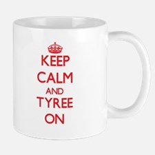 Keep Calm and Tyree ON Mugs