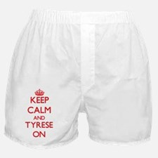 Keep Calm and Tyrese ON Boxer Shorts