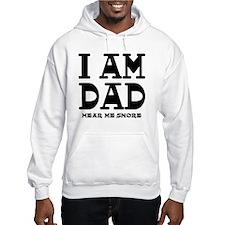 Dad Snores Jumper Hoody
