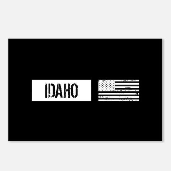 U.S. Flag: Idaho Postcards (Package of 8)