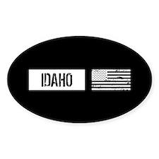 US Flag: Idaho Decal