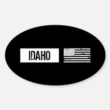 U.S. Flag: Idaho Decal