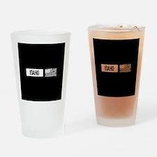 U.S. Flag: Idaho Drinking Glass