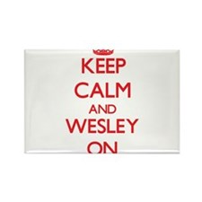 Keep Calm and Wesley ON Magnets