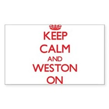 Keep Calm and Weston ON Decal