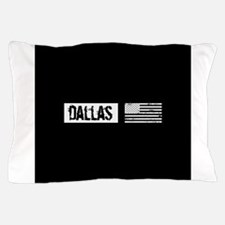 U.S. Flag: Dallas Pillow Case