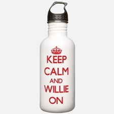 Keep Calm and Willie O Sports Water Bottle