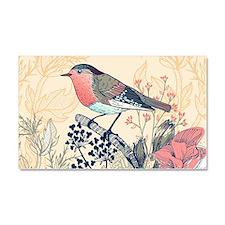 Beautiful Bird Car Magnet 20 x 12