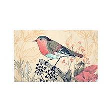 Beautiful Bird Area Rug