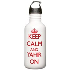 Keep Calm and Yahir ON Sports Water Bottle