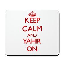 Keep Calm and Yahir ON Mousepad