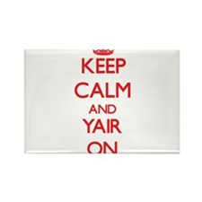 Keep Calm and Yair ON Magnets