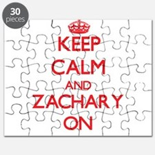 Keep Calm and Zachary ON Puzzle