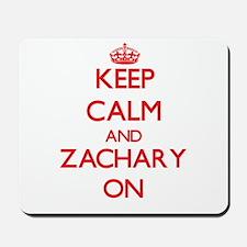 Keep Calm and Zachary ON Mousepad