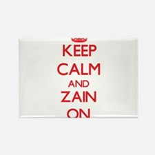 Keep Calm and Zain ON Magnets