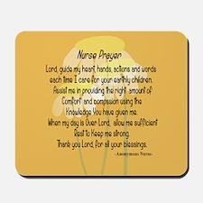 Nurse Prayer Mousepad
