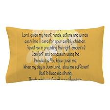 Nurse Prayer Pillow Case