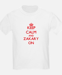 Keep Calm and Zakary ON T-Shirt