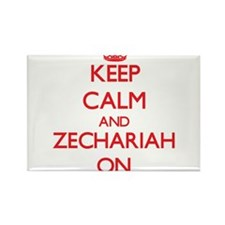 Keep Calm and Zechariah ON Magnets