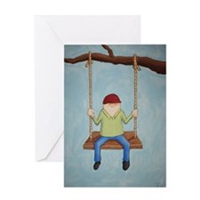Just Hangin' Out Greeting Card
