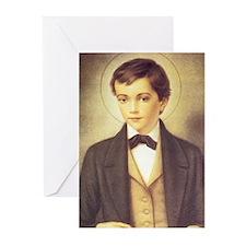 St. Dominic Savio Greeting Cards (Pk of 10)