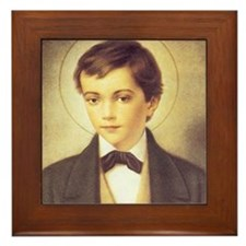 St. Dominic Savio Framed Tile