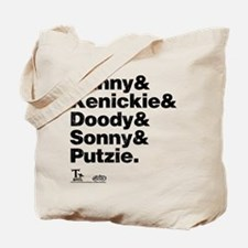 T-Bird Names Tote Bag