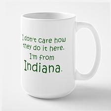 From Indiana Large Mug