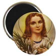 "St. Maria Goretti 2.25"" Magnet (10 pack)"