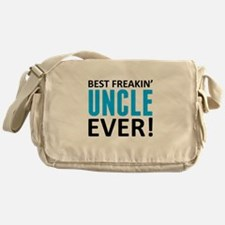 Best Freakin' Uncle Ever! Messenger Bag