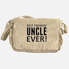 Best Freakin' Uncle Ever! Messenger Bag