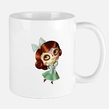 The Day of The Dead Vintage Doll Mugs