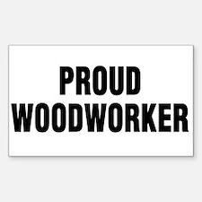 Woodshop News Rectangle Decal
