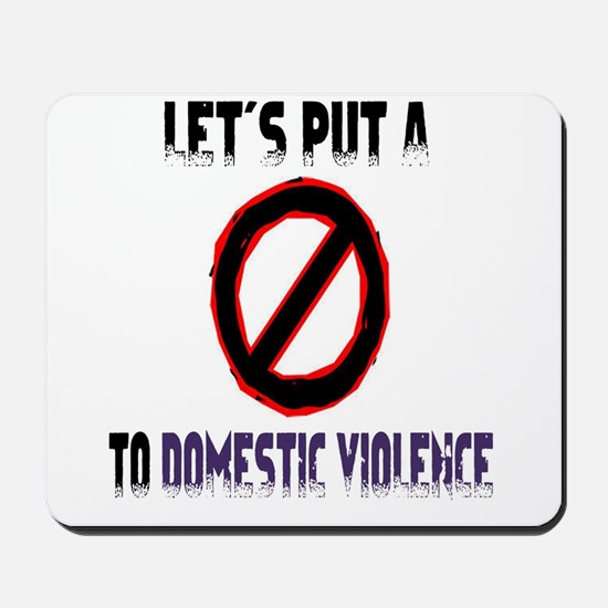 Men's let's put a stop Mousepad