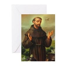 St. Francis of Assisi Greeting Cards (Pk of 10)